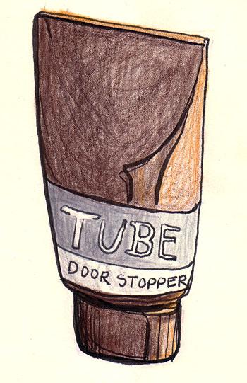 Tube Door Stopper