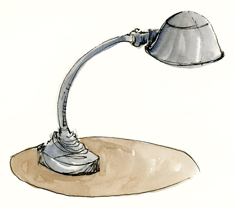 Old Table Lamp