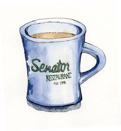Senator Restaurant Mug