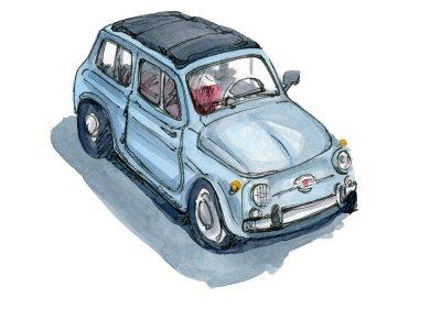 Little Vintage Car