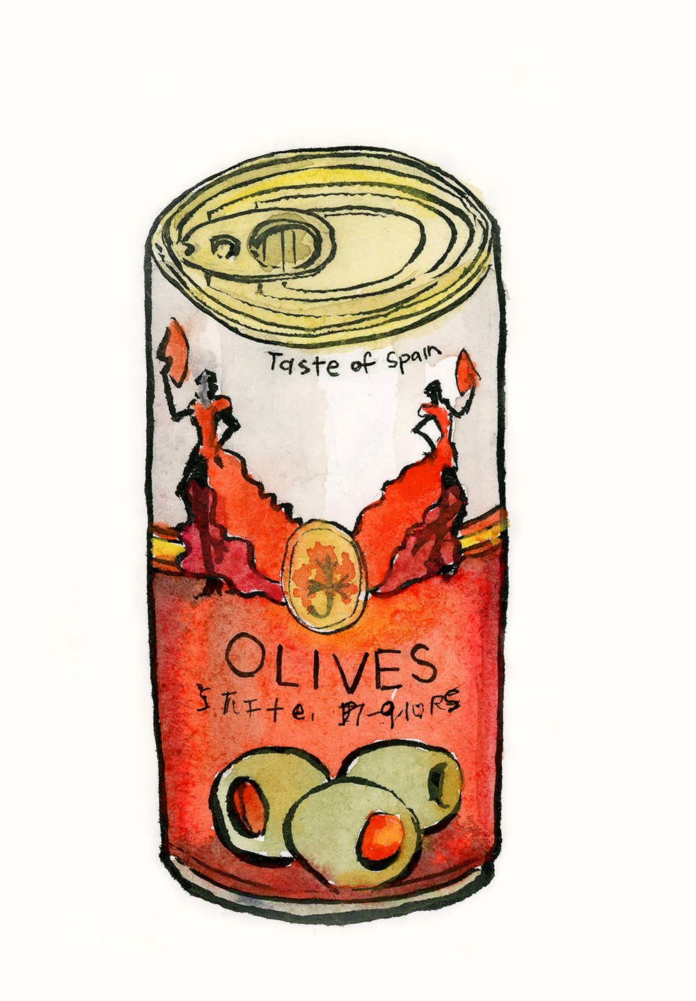Taste of Spain – Can of Olives