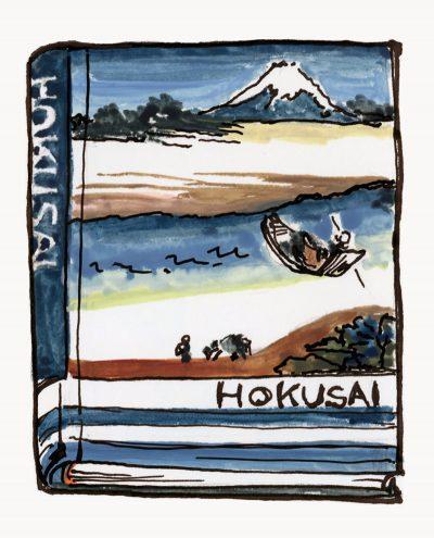 Hokusai Book
