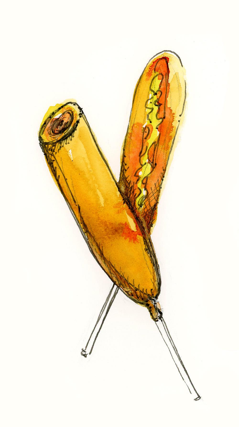 Veggie Corn Dog