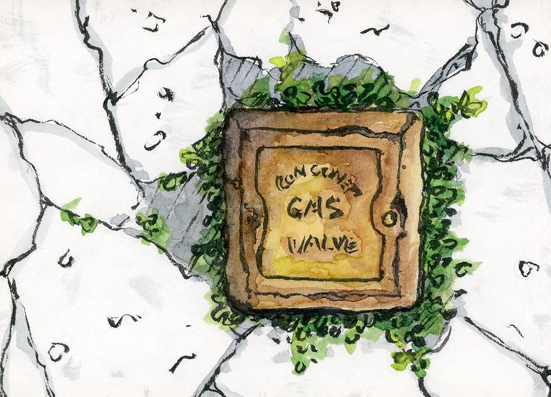 Gas Valve 'A'