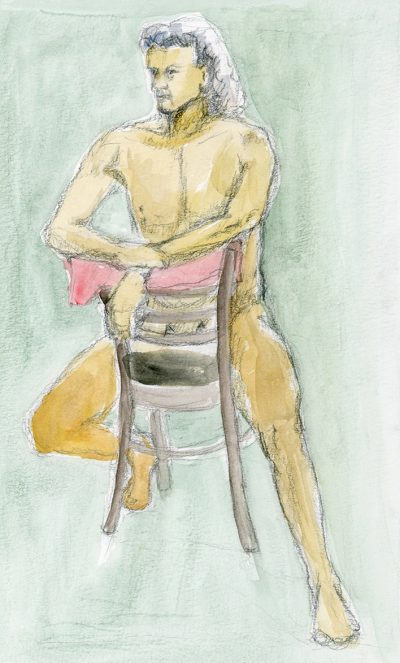 Life Drawing Feb 26