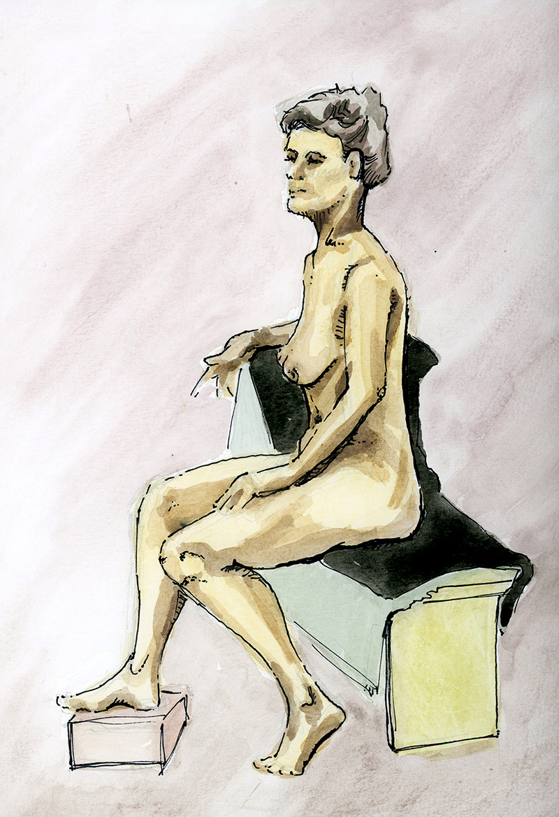 Life Drawing March 19